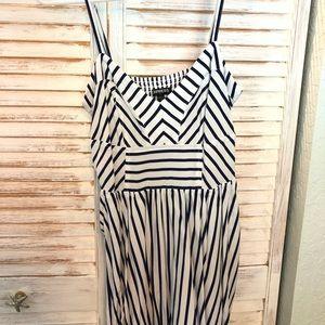Express striped dress